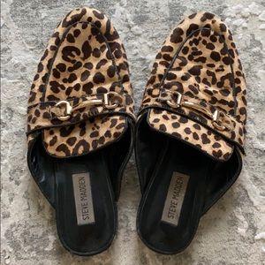 Steve Madden Leopard loafers - sz 8.5